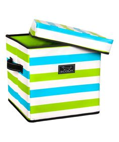 Jersey Boys Square Lidded Storage Box #zulily #zulilyfinds