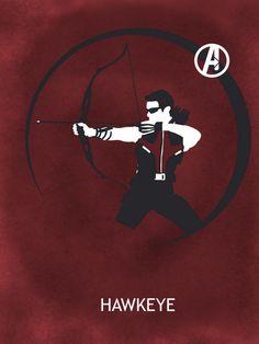 Hawkeye by Matthew Saxon