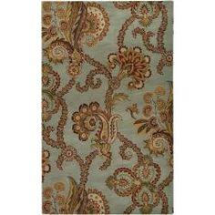 Hand-tufted Seafoam Chevaliers Wool Rug (5' x 8') $242.99