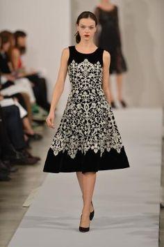 Oscar De La Renta for Mercedes-Benz Fashion Week Fall 2013