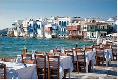 Mykonos, Greece... This place is on our vaca list!
