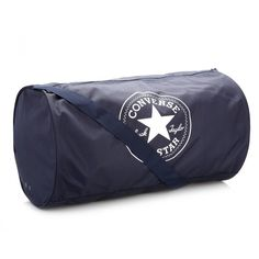 42ed5df51452 Converse All Star Navy Standard Duffel Poly Bag