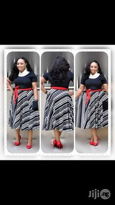 Classic And Cute Original Turkish Outfit Dress for sale in Lagos Island African Attire, African Wear, African Dress, African Style, Office Wear Women Work Outfits, Office Dresses For Women, Corporate Outfits, Corporate Wear, African Fashion Skirts