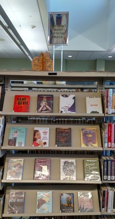 Fall 2016 display at the Ronald H. Roberts Temecula Public Library Teen Zone