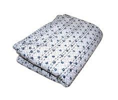 Vintage Indian Kantha Bedspread Handmade Quilt Throw 100%Cotton Blanket Queen #Handmade #ArtDecoStyle Kantha Quilt, Quilts, Bedspread, Bedding, Cotton Blankets, Sofa Covers, Art Deco Fashion, Indian, Queen