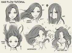 Hair flow