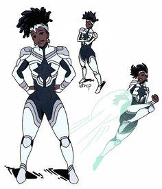 captain marvel ( monica rambeau ), an art print by stephen mcdowell - INPRNT Domino Marvel, Marvel Fan Art, Ms Marvel, Marvel Dc Comics, Captain Marvel, Marvel Women, Superhero Characters, Black Characters, Anime Characters