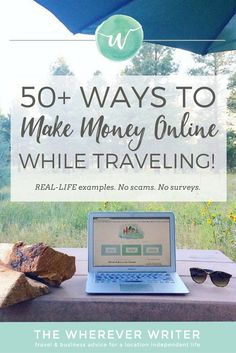 Ways to Make Money Online While Traveling | These include REAL ways Ive made money online! Click to get inspired!
