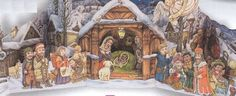 [New Paper Craft] Christmas – Nativity Scene Ver.3 Free Papercraft Download at PaperCraftSquare.com