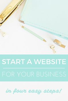 Start a website for your small business in four easy steps! Every business needs a website - whether you're service-based or have a brick-and-mortar store. Here is how you can start your very own website for your business - in a simple, affordable way. Get started now!