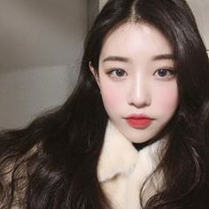 ♡Cold day in Seoul♡ Soft Grunge Hair, Grunge Girl, Korean Face, Uzzlang Girl, Cute Korean Girl, Beautiful Asian Girls, Asian Beauty, Cute Girls, Pretty Girls