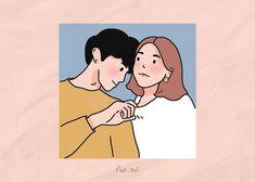 Cute Couple Drawings, Cute Couple Cartoon, Chibi Couple, Cute Couple Art, Anime Love Couple, Cute Drawings, Cute Couple Wallpaper, Anime Scenery Wallpaper, Couple Illustration