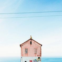 manuel pita (Sejkko) is a photographer who specifically looks for these seemingly abandoned a small house with a camera