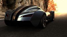 bugatti aerolithe concept car