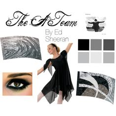 """""""The A Team Winter Guard Show"""" by noellesmithh on Polyvore"""
