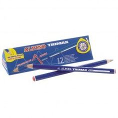 Stubby Pencil Studio Llc - Alpino Trimax Graphite Pencils Triangular-shaped pencils by the dozen $13.95 #bestseller