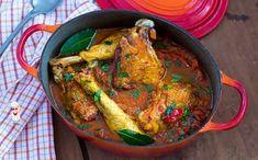 Куриные ножки с помидорами на сковороде - Вкусно готовим дома