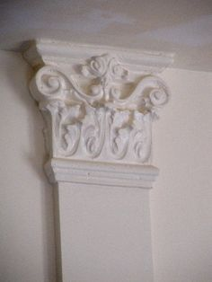 How to Create Decorative Cast Plaster Faux Interior Columns - Tutorial   - Love!!  <3