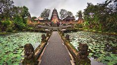 Ubud, Indonésia: A pequena cidade de Ubud, localizada no centro da ilha e longe das praias, também v... - Shutterstock