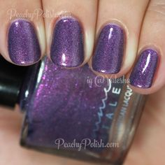 Femme Fatale Cosmetics Her Imperial Majesty | Which Witch Collection | Peachy Polish
