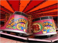 Spin us faster faster faster on the Waltzers - took my Nan on this, almost finished her off!!