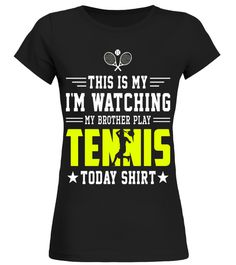 "# This Is My I'm Watching My Brother Play Tennis Shirt .  Special Offer, not available in shops      Comes in a variety of styles and colours      Buy yours now before it is too late!      Secured payment via Visa / Mastercard / Amex / PayPal      How to place an order            Choose the model from the drop-down menu      Click on ""Buy it now""      Choose the size and the quantity      Add your delivery address and bank details      And that's it!      Tags: This Is My I'm Watching My…"