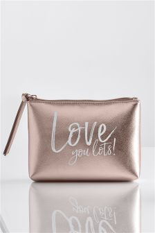 Love You Lots Make Up Bag