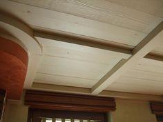 Falegnameria Giai, controsoffitto in legno