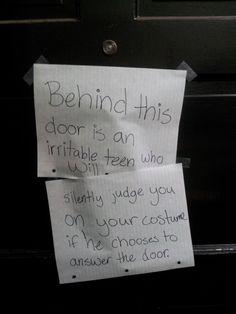 Halloween Solution, teen, judge you, costume
