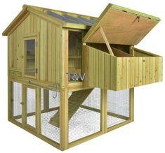 Backyard Chicken Coops, Chickens Backyard, Esschert Design, Hen House, Recycled Pallets, Animal House, Home Living, Wood Design, Farm Animals