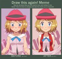Draw This Again! - Serena by DaDonYordel