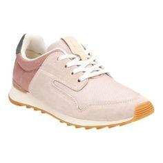 0fff031e5 Women s Clarks Floura Mix Sneaker Nude Combination Zapatos Cómodos