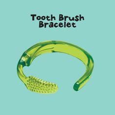 Vrij simpele instructie, Een tandenborstel tot armband omtoveren!