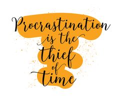 """""""Procrastination is the thief of time"""" – Charles Dickens I procrastinate. I'll admit it. I have a bad habit of taking on easy tasks first and leaving more challenging things until last. Or I'll put…"""