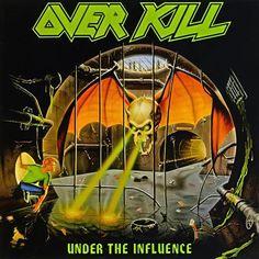"""RECENSIONE: Overkill ((Under The Influence)) La regola del terzo album, appieno confermata. Se si riesce a siglare un importante successo, mediante la terza release, allora la strada risulterà da lì in poi spianata. Non esiste altro concetto per descrivere """"Under The Influence"""", album diretto e veloce, ma anche a tratti epicheggiante e mai monocorde. Un Thrash potente unito a più soluzioni in grado di renderlo variegato, mai noioso e mai banale. Una delle release più importanti della storia…"""