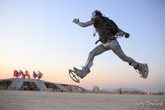 spring board shoes - kangoo jumps