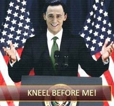 #Loki2016 https://twitter.com/Alessio1792/status/700836329429422081 (Well, we'd at least know what we are getting. <3)