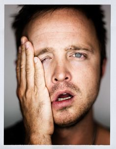 Aaron Paul | by Mark Mann