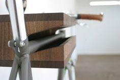 fixie vélo mur accrocher support bois
