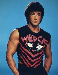 """Sylvester Stallone, """"The Wildcat"""", Dojo, Sylvester Stallone Rambo, Stallone Rocky, Jackie Stallone, Rocky Series, Silvester Stallone, Demolition Man, Punisher Marvel, Rocky Balboa"""