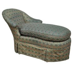 Vintage-French-Louis-XVI-Sty-Hollywood-Regency-Chaise-Lounge-Fainting-Couch-Sofa