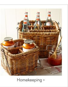 These baskets are very versatile.  Love them!