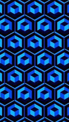 Blue Wallpapers, Wallpaper Backgrounds, Iphone Wallpaper, Phone Backgrounds, Motif Design, Pattern Design, Print Design, Zentangle Patterns, Quilt Patterns