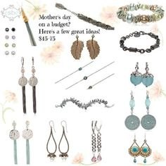 Mother's Day gifts at many price points!  eSBe Designs has the perfect gifts for Mom!  #esbeDesigns  #esbejewelry