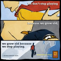 #Quote #Playing #Inspiration #GeorgeBernardShaw #Motivation