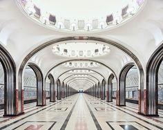 estações de metrô da Russia8