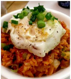 MD cooks for two: Kimchi Fried Rice (bokkeumbap)