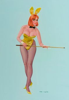 Don Lewis, Playboy Bunny Pin-up