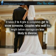 Agreed... I just roll my eyes when I hear people are getting engaged after only a year or less together! You can't truly know someone in such a short time! Seen them at their worst? Already? Oh not even close. There are those who have known each other longer and still divorce.... I guess I'll never understand the rush.