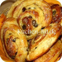 Hefeteig-rosinen-schnecke